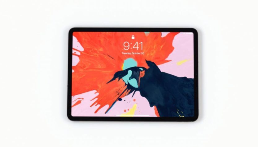 ipad pro 2018 more powerful less bezel
