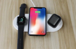 AirPower and Black AirPods 2